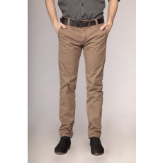 M méret Férfi slim nadrág- khaki
