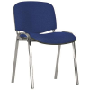 Nowy Styl Conference chair: ISO chrome CU-6  blue mbk0330242
