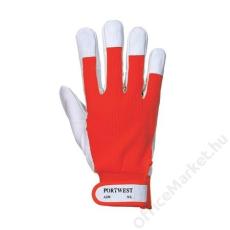 Védőkesztyű, XLTergsus, piros (MED081)