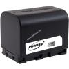 Powery Utángyártott akku videokamera JVC GZ-E205RE 3,6V 2670mAh Li-Ion fekete (info chip-es)