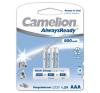 Camelion akku típus HR03 Micro AAA AlwaysReady 2db/csom. 800mAh tölthető elem