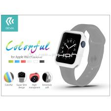 Devia Apple Watch védőtok - Devia Colorful 42 mm - white tok és táska