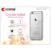 Comma Apple iPhone 6/6S hátlap Swarovski kristály díszitéssel - Comma Crystal Ballet - silver