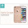 Devia Apple iPhone 6/6S hátlap Swarovski kristály díszitéssel - Devia Crystal Baroque - champagne gold