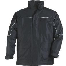 MV fekete RIPSTOP kabát (MÉRETEK: S-4XL)