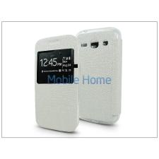 Haffner Samsung G3500 Galaxy Core Plus S-View Flexi oldalra nyíló flipes tok - fehér tok és táska