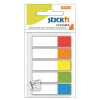 STICK SELF-ADHESIVE INDEX FILING TABS MIX 5 NEON COLOURS – 45X12MM 4712759214657