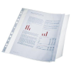 ESSELTE Punched pocket: A4 with a flap (10 pcs/plastic pckg) 5902812179392