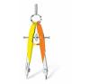 """STAEDTLER """"Mars Comfort Neon"""" 2 darabos precíziós körző készlet, neon sárga/narancs hegyező"""