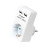LogiLink Hálózati (AC) adapter 2xUSB töltővel (2x1A)
