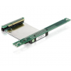 DELOCK Riser card PCI Express x8 with flexible cable 7 cm left insertion