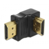 DELOCK Adapter HDMI male > HDMI male 90° down (65073)
