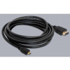 DELOCK Cable High Speed HDMI with Ethernet A/D male / male 3m (82663)