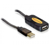 DELOCK Cable USB 2.0 Extension active 5m (82308)