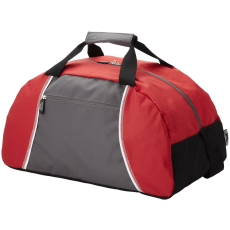 Slazenger BRISBANE, Slazenger sporttáska, szürke/piros (BRISBANE, Slazenger sporttáska azok számára, akik)