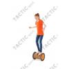 Gonge mozgásfejlesztő egyensúlyozó mókuskerék henger (dob), narancs szín