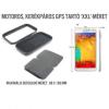 GPS, Telefon motoros, kerékpáros tartó XXL méret, 88x168mm