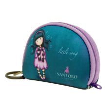 Santoro Gorjuss, kulcstartós pénztárca 9x7,5cm, Little Song