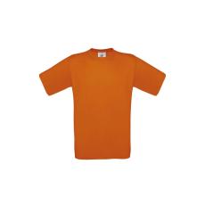 B&C B&C r. ujjú pamut póló, orange