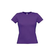 B&C B&C környakas Női póló, purple női póló