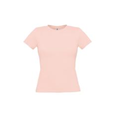 B&C B&C környakas Női póló, romantic pink