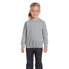 GILDAN Gildan kereknyakú gyerekpulóver, sportszürke