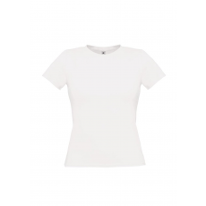 B&C B&C környakas Női póló, fehér