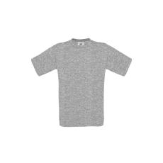 B&C B&C r. ujjú pamut póló, sport grey