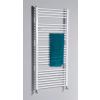 Aqualine fürdőszobai radiátor, 750x1690 mm, egyenes fehér (ILR67)