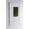 Aqualine fürdőszobai radiátor, 750x1850 mm, íves fehér (ILO87)
