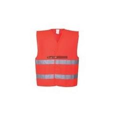Portwest C474 Jól láthatósági mellény (piros)