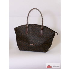 Giulia Pieralli nagy táska sötét barna füllel