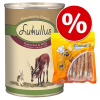 Lukullus nedvestáp 6 x 400 g + Cookies 200 g - Szárnyas & bárány
