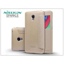 Nillkin Lenovo Vibe P1 oldalra nyíló flipes tok - Nillkin Sparkle - golden tok és táska