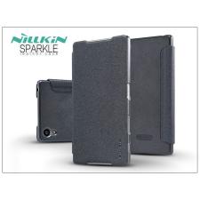 Nillkin Sony Xperia Z5 (E6653) oldalra nyíló flipes tok - Nillkin Sparkle - fekete tok és táska