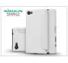 Nillkin Sony Xperia Z5 Compact (E5803) oldalra nyíló flipes tok - Nillkin Sparkle - fehér tok és táska
