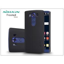 Nillkin LG V10 hátlap képernyővédő fóliával - Nillkin Frosted Shield - fekete tok és táska