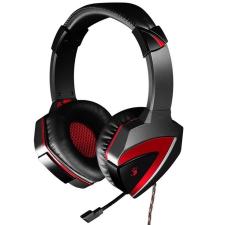 A4Tech G501 Bloody Gaming Headset 7.1 surround, USB, fekete-piros headset & mikrofon