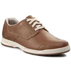 Félcipő CLARKS - Stafford Plan 261087437 Tan Leather