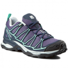 Bakancs SALOMON - X Ultra Prime W 371673 25 M0 Artist Grey-X/Deep Blue/Lucite Green