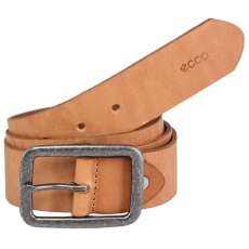 Férfi öv ECCO - Pasek Męski ECCO - Cartago Belt Cool Casual 9104507900121 Earth 121 100CM