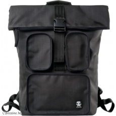 CRUMPLER - The Condo Backpack grey black / black