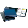 DURABLE Business card holder: VISIFIX A  400 cards – graphite 4005546208893