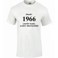 Tréfás póló 50 éves, Készült 1966...   (XL)