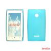 CELLECT Microsoft Lumia 550 vékony szilikon hátlap,Kék