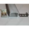 N/A Alumínium, alu profil, sín, LED szalaghoz, eloxált, szögletes, 1 méter 10mm,20mm szalaghoz