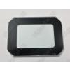 N/A 10W LED reflektor front üveg fekete kerettel