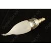 N/A LED izzó E14 gyertya 3W 390 Lumen semleges fehér üveg