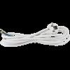 Emos S14372 FLEXO 3X0,75 H05VV-F 2m fehér szerelt kábel