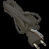 Emos S19275 FLEXO2X0,75 H03VVH2-F 5m fekete szerelt kábel